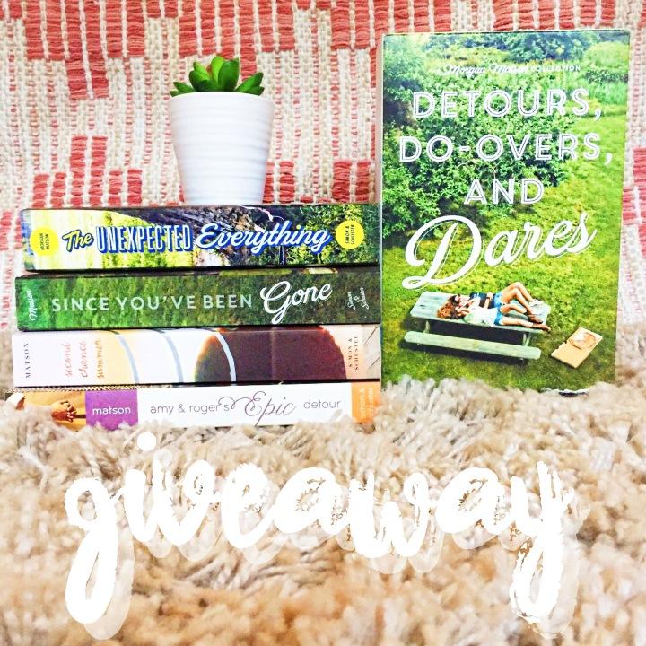Morgan Matson BookGiveaway